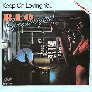 Coverafbeelding REO Speedwagon - Keep On Loving You