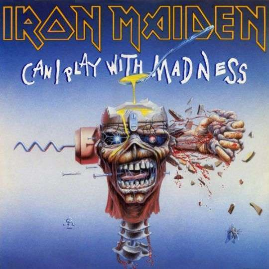 Coverafbeelding Can I Play With Madness - Iron Maiden