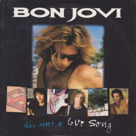 Coverafbeelding Bon Jovi - This Ain't A Love Song