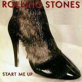 Coverafbeelding Rolling Stones - Start Me Up
