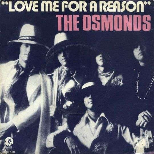Coverafbeelding Love Me For A Reason - The Osmonds