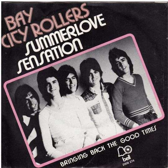 Coverafbeelding Summerlove Sensation - Bay City Rollers
