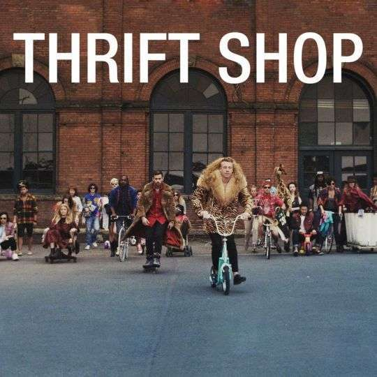 Coverafbeelding Thrift Shop - Macklemore & Ryan Lewis (Feat. Wanz)