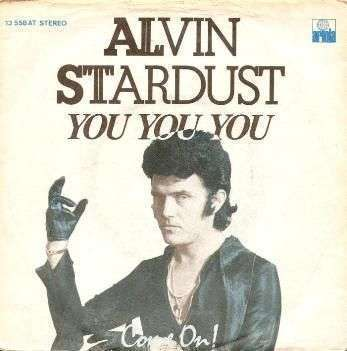 Coverafbeelding You You You - Alvin Stardust
