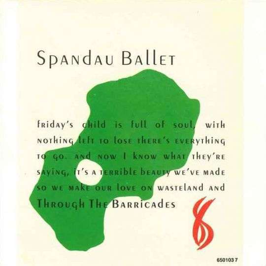 Coverafbeelding Through The Barricades - Spandau Ballet