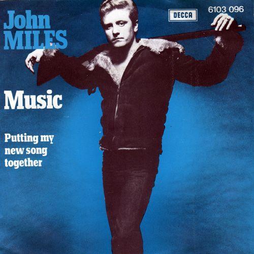 Coverafbeelding John Miles - Music