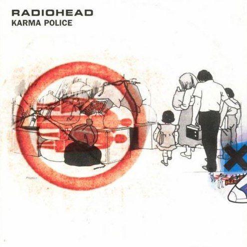 Coverafbeelding Karma Police - Radiohead