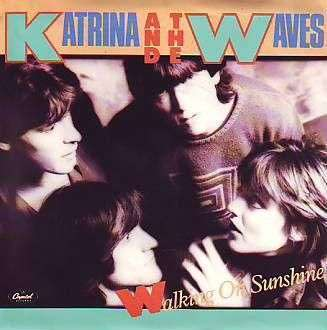 Coverafbeelding Walking On Sunshine - Katrina And The Waves