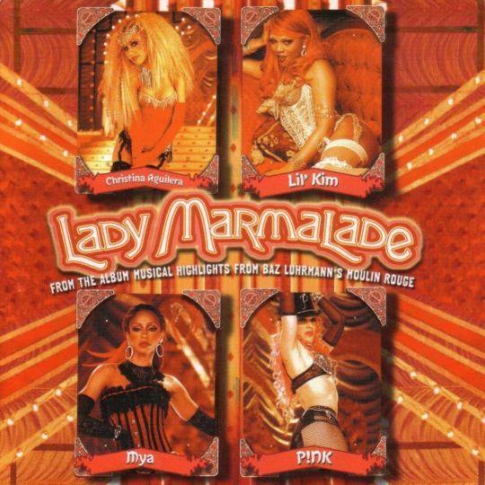Coverafbeelding Lady Marmalade - Christina Aguilera & Lil' Kim & Mya & P!nk
