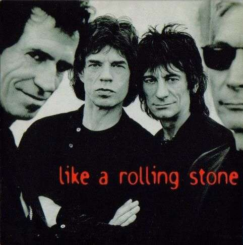 Coverafbeelding Like A Rolling Stone - The Rolling Stones