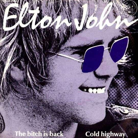 Coverafbeelding The Bitch Is Back - Elton John