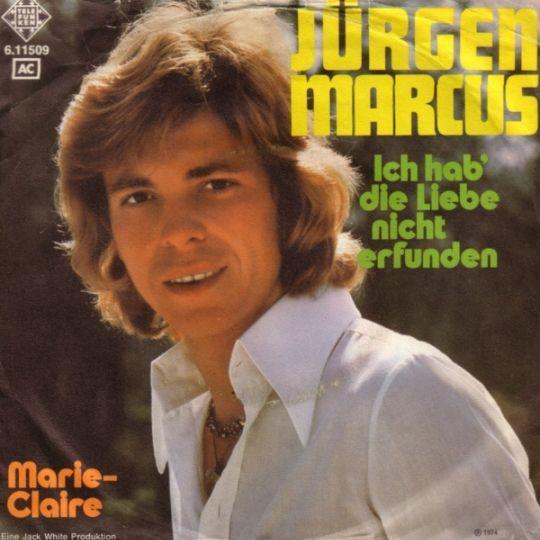 Coverafbeelding Jürgen Marcus - Ich Hab' Die Liebe Nicht Erfunden