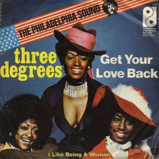 Coverafbeelding Get Your Love Back - Three Degrees
