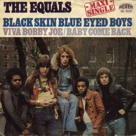 Coverafbeelding Black Skin Blue Eyed Boys [Maxi Single] - The Equals