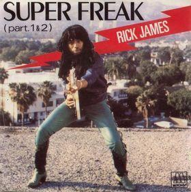 Coverafbeelding Super Freak - Rick James