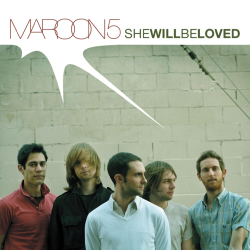 Coverafbeelding She Will Be Loved - Maroon 5