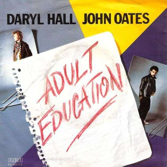 Coverafbeelding Adult Education - Daryl Hall & John Oates