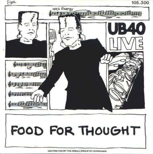 Coverafbeelding Food For Thought - Live - Ub40
