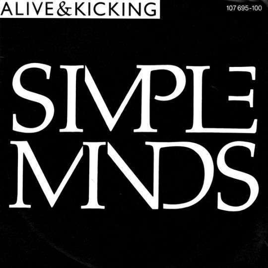 Coverafbeelding Alive & Kicking - Simple Minds