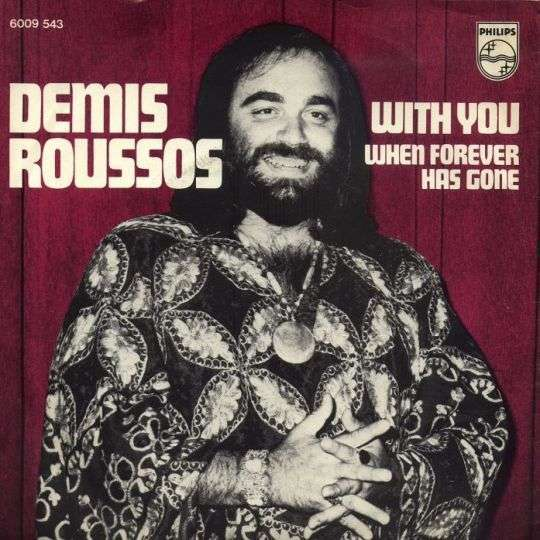 Coverafbeelding With You - Demis Roussos