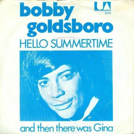Coverafbeelding Hello Summertime - Bobby Goldsboro