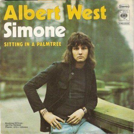 Coverafbeelding Albert West - Simone