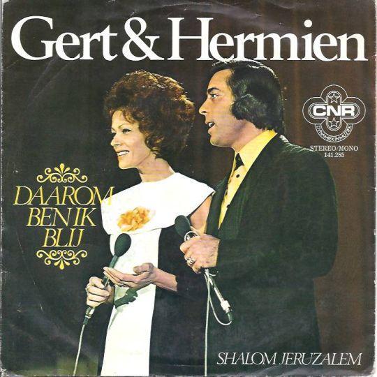 Coverafbeelding Daarom Ben Ik Blij - Gert & Hermien