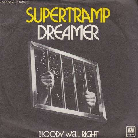 Coverafbeelding Dreamer - Supertramp