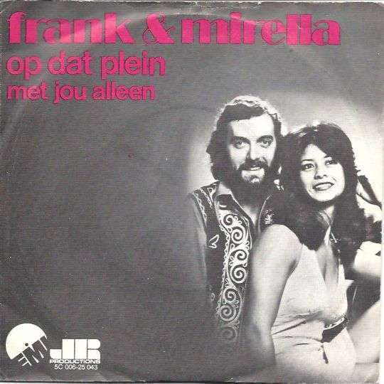 Coverafbeelding Op Dat Plein - Frank & Mirella