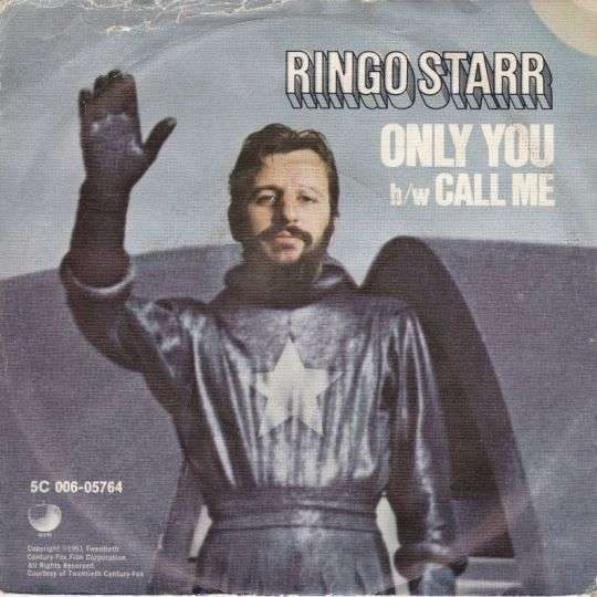 Coverafbeelding Only You - Ringo Starr