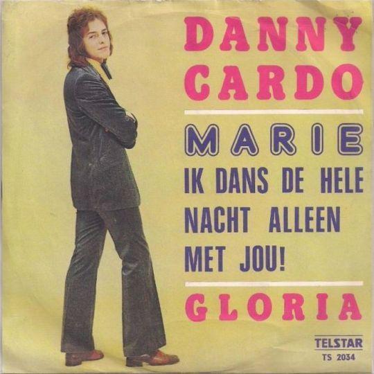 Coverafbeelding Marie Ik Dans De Hele Nacht Alleen Met Jou! - Danny Cardo
