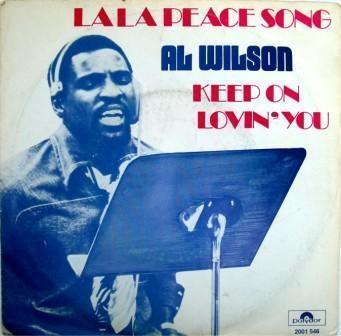 Coverafbeelding Al Wilson - La La Peace Song