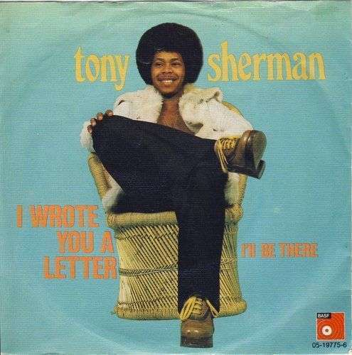 Coverafbeelding I Wrote You A Letter - Tony Sherman