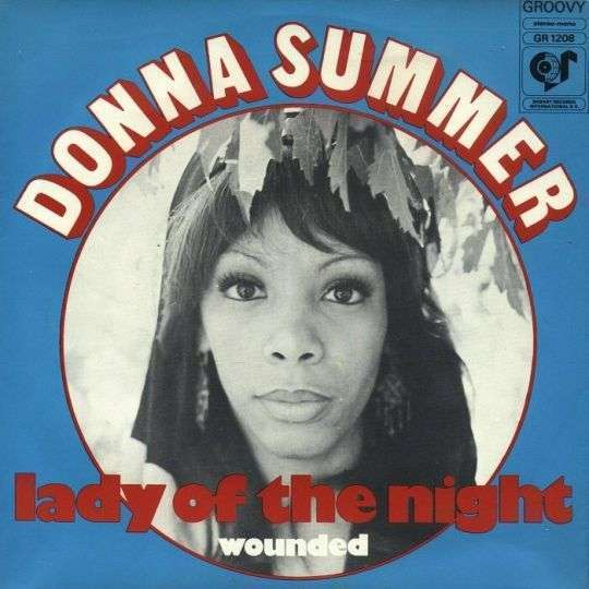 Coverafbeelding Donna Summer - Lady Of The Night