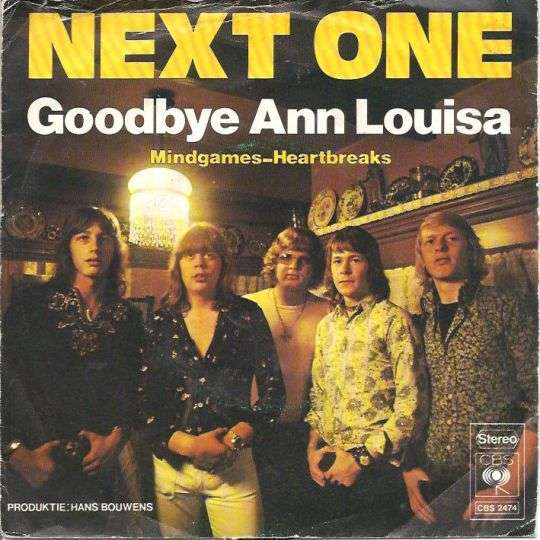 Coverafbeelding Next One - Goodbye Ann Louisa