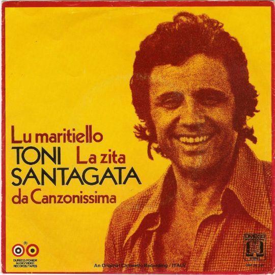 Coverafbeelding Toni Santagata - Lu Maritiello