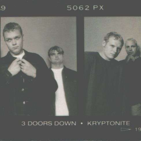 Coverafbeelding Kryptonite - 3 Doors Down