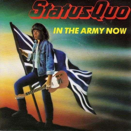 Coverafbeelding In The Army Now - Status Quo