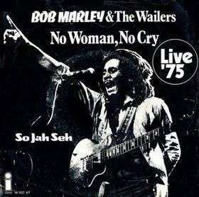 Coverafbeelding No Woman, No Cry - Live '75 - Bob Marley & The Wailers