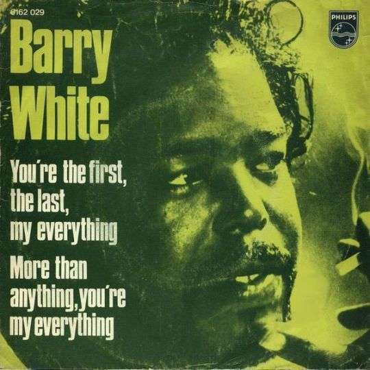 Coverafbeelding You're The First, The Last, My Everything - Barry White