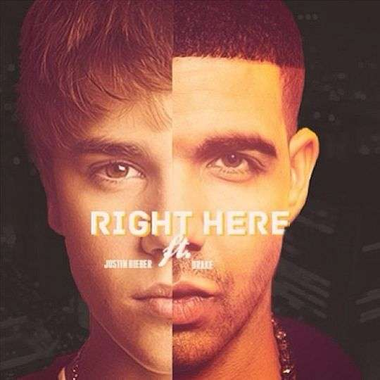 Coverafbeelding justin bieber ft. drake - right here