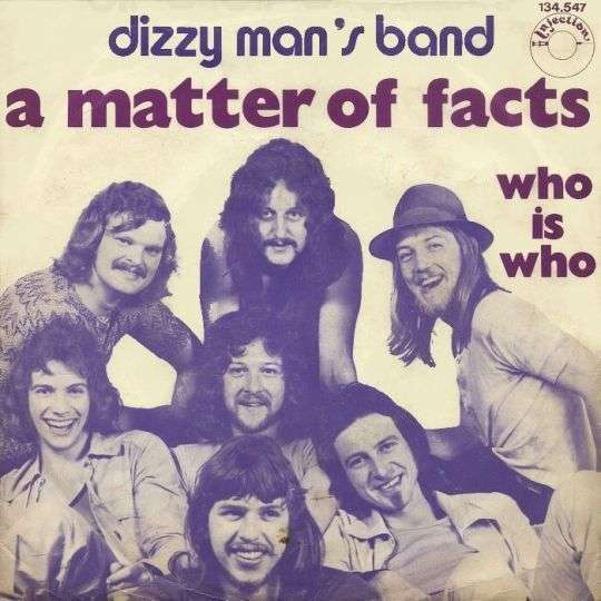 Coverafbeelding A Matter Of Facts - Dizzy Man's Band