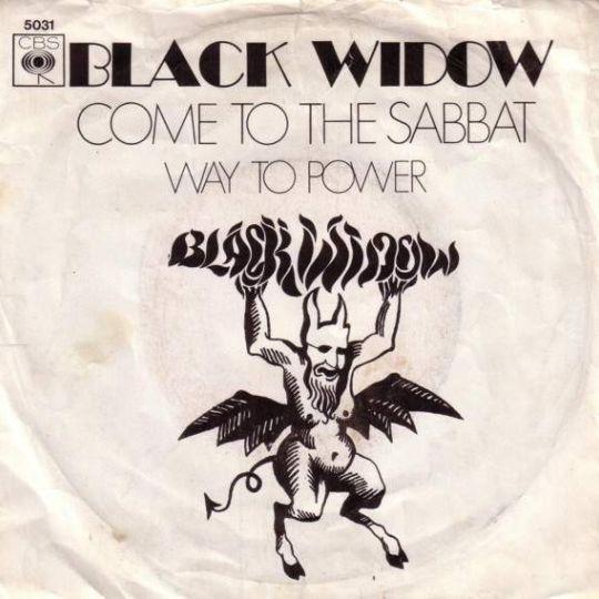 Coverafbeelding Black Widow - Come To The Sabbat