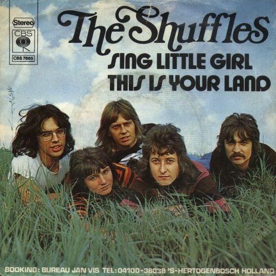 Coverafbeelding Sing Little Girl - The Shuffles