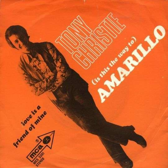 Coverafbeelding Tony Christie - (Is This The Way To) Amarillo