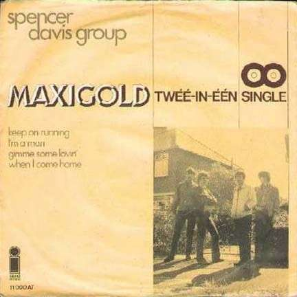 Coverafbeelding Maxigold - Twéé-in-Één-single - Spencer Davis Group