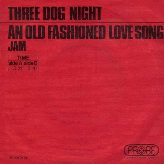 Coverafbeelding An Old Fashioned Love Song - Three Dog Night