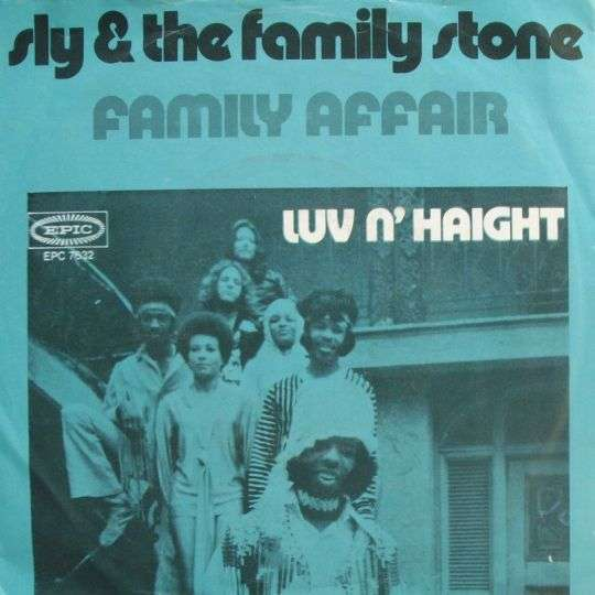Coverafbeelding Family Affair - Sly & The Family Stone