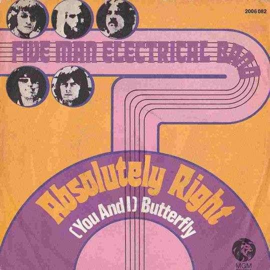 Coverafbeelding Absolutely Right - Five Man Electrical Band