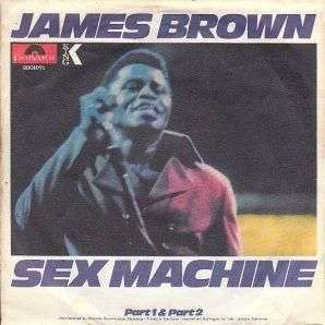 Coverafbeelding Sex Machine - James Brown